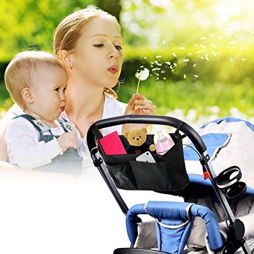 Top Stroller by SNHNY; The Best Stroller Accessories; Diaper Accessary