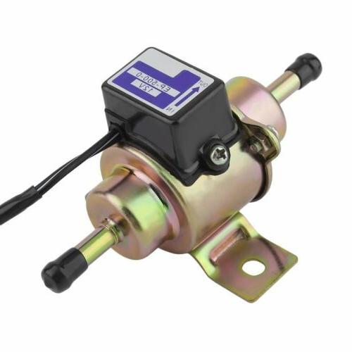 Universal Low Pressure Inline 12V 3-5PSI Pump KZ