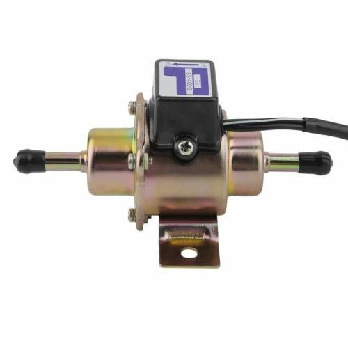 Universal Electric Fuel Pump Low Pressure 12V Gasoline