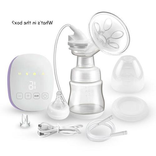 USB Pump Comfort Breastpump Moms Extractor