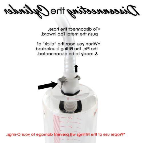 LeLuv Bgrip Pump Natural Enhancement Cups or