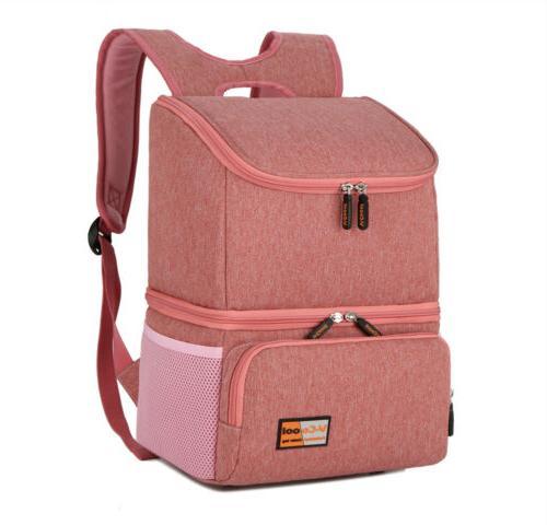 Waterproof  Mother Baby Milk Bottle Breast Pump Bag Backpack
