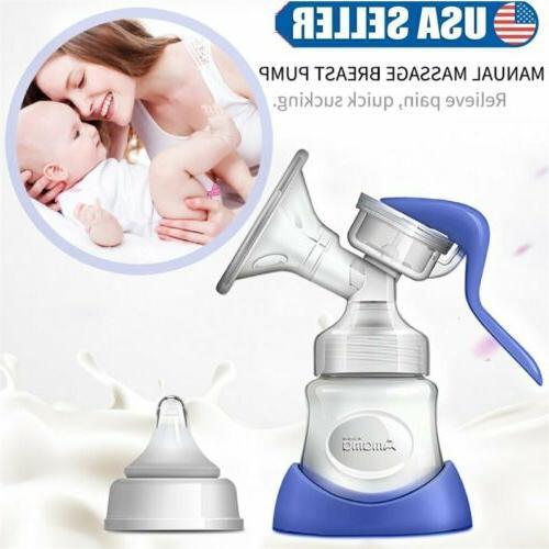 women manual breast pump powerful baby care