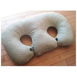THE TWIN Z PILLOW- LIGHT GREEN -The Only 6 in 1 Twin Pillow