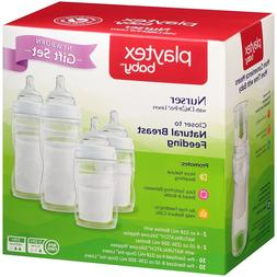 L033 Playtex Baby Newborn Gift Set BPA-Free Nurser Bottles w