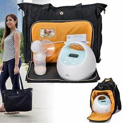 lauren breast pump bag portable tote bag