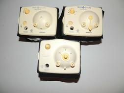 lot of 3 9v breast pump motors
