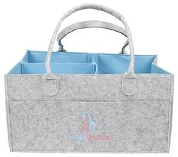 Luxury Little Baby Diaper Caddy :: Extra Large Storage for D