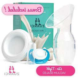 Breastfeeding Milk Catcher I Breastpump Best For New Moms Gi