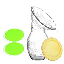 UINSTONE Manual Breast Pump for Breastfeeding with sealing d