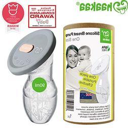Haakaa Manual Breast Pump Breastfeeding with New Upgrade Sil