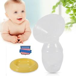 Manual Breast Pump Breastfeeding Milk Collection Bottle Baby