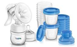 Philips Avent Manual Comfort Breast Pump with Milk Storage C