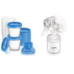 Philips Avent Manual Comfort Breast Pump and Breast Milk Sto
