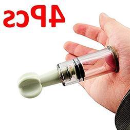 4 PCS Massage Cups Body Massager Natural Nipple Enhancer Enl