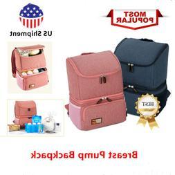 Cooler Bag Insulated Backpack Milk Bottle Breast Pump Waterp