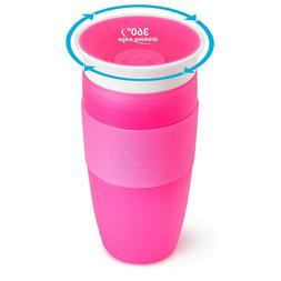 miracle 360 degree sippy cup 410ml pink