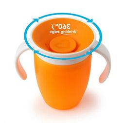 Munchkin Miracle 360 Trainer Cup, 7 Ounce 1-Pack - Orange
