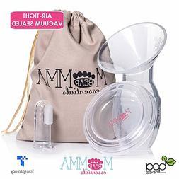 Momma Bear Milk Saver Manual Breast Pump & Milk Suction Pump