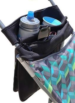 Mom's Favorite Universal Stroller Organizer With 2 Cup Hol