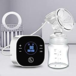 Moms Organic Intelligent LCD Electric Breast Pump Breastfeed