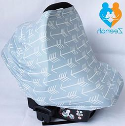 Multi-Use Carseat Canopy & Breastfeeding Cover - Breathable