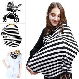 Multi Use Nursing Breastfeeding Cover Scarf | High Chair, Sh