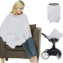 LifeTree Multi-Use Nursing Cover Poncho | Breastfeeding Cove