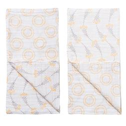 Bebe Au Lait Muslin Blankies- Wildflower & Halo