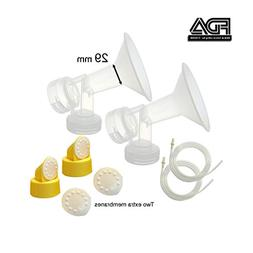 Maymom MyFit Breast Pump Kit for Medela Pump in Style Pumps;