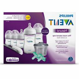 Philips Avent Natural Baby Bottle Newborn Starter Gift Set,