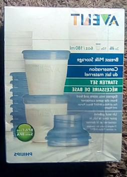 Avent Naturally Via Breast Milk Storage Kit