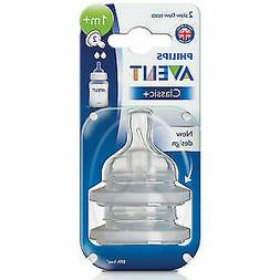 New Philips Avent BPA Free Slow Flow Anti Colic Nipples for