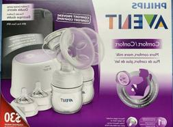 NEW Philips AVENT Double Electric Comfort Breast Pump SCF334