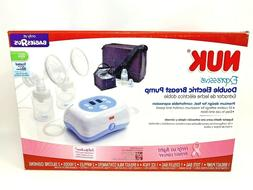 New Nuk Expressive Double Electric Breast Pump BabiesRUs Exc