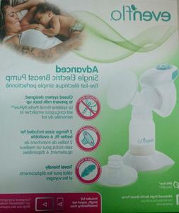 New In Open Box Evenflo Advanced Single Electric Breast Pump