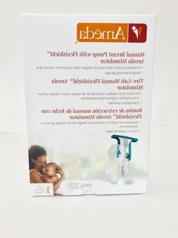 NEW Ameda Manual Single Breast Pump with Flexishield Areola