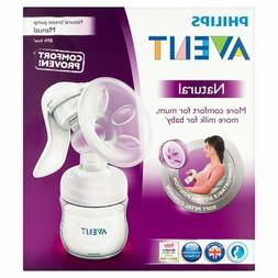 New Philips Avent SCF330/20 Manual Natural Breast Pump BPA F