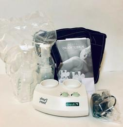 NEW Ameda Purely Yours Double Electric Closed System Breast