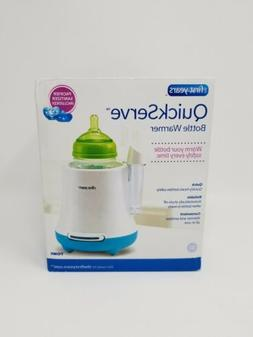 New The First Years Quick Serve Bottle Warmer with Pacifier