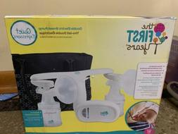 new quiet expressions electric double breast pump