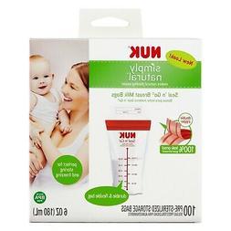 - NEW - NUK Seal N Go Breast Milk Bags, 100 Count