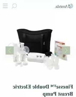 New Sealed Box Ameda Finesse Double Electric Breast Pump Sys