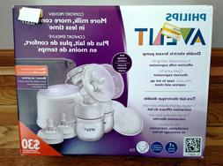 new sealed philips double electric breast pump