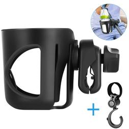 Stroller Pram Cup Holder Universal Bottle Organizer Hook for