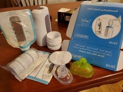 New Kiinde Twist Breastfeeding Starter Kit Pack Sample breas
