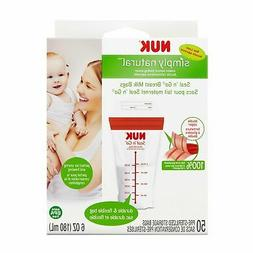 NUK Seal N Go Breast Milk Bags with Bonus Baby Haven Reusabl