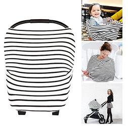 Nursing Cover - Breastfeeding Cover Carseat Canopy for Baby