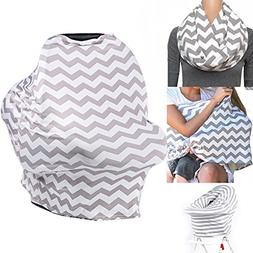Baby Car Seat Canopy, Nursing Cover for Breastfeeding, Baby
