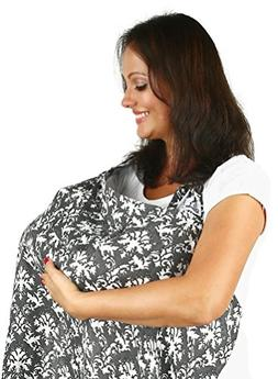 Nursing Cover for Breastfeeding From Bamboo Muslin - Extreme